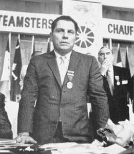 Jimmy Hoffa, fackföreningspamp. Tog han USA ur 30-talsdepressionen?